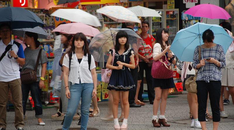Il giapponese e il suo cellulare