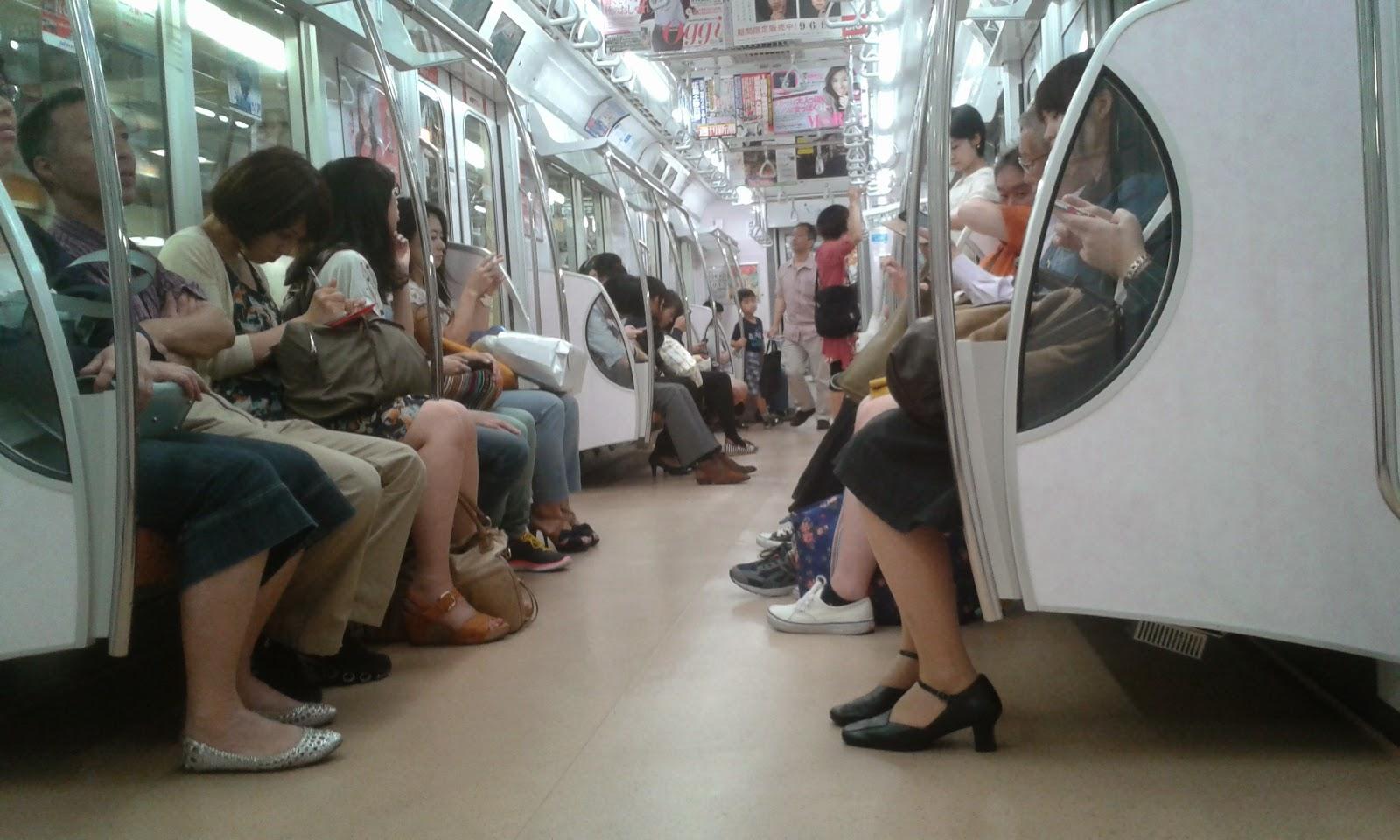 La metropolitana di sera