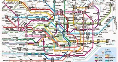 La rete metropolitana di Tokyo