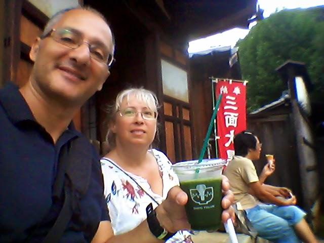 Le bevande al tè verde di Kyoto