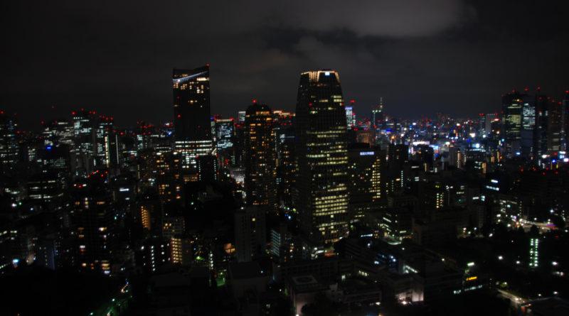 città di tokyo di notte