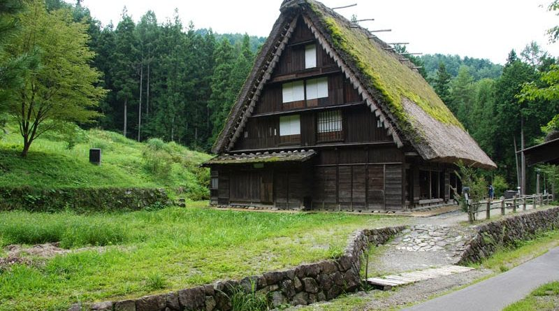 Le case dai tetti di paglia di Takayama