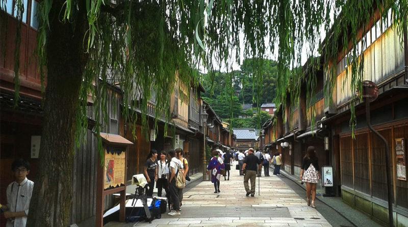 il quartiere delle geishe di kanazawa