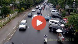 Il traffico di Giakarta