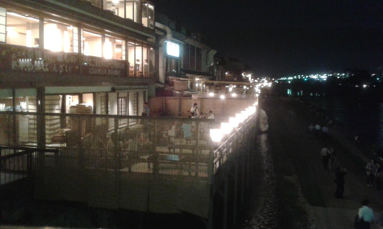 sabato sera a Kyoto