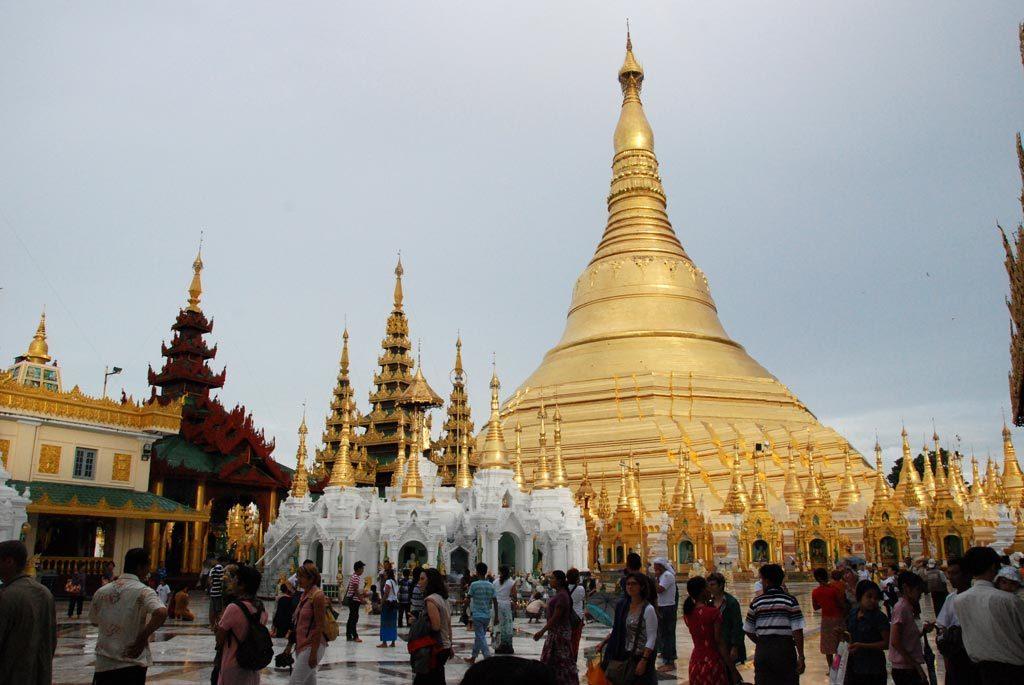Yangon, Pagoda Shwedagon