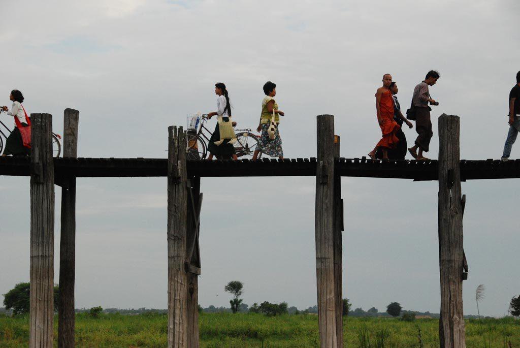 Il ponte di tek di Mandalay