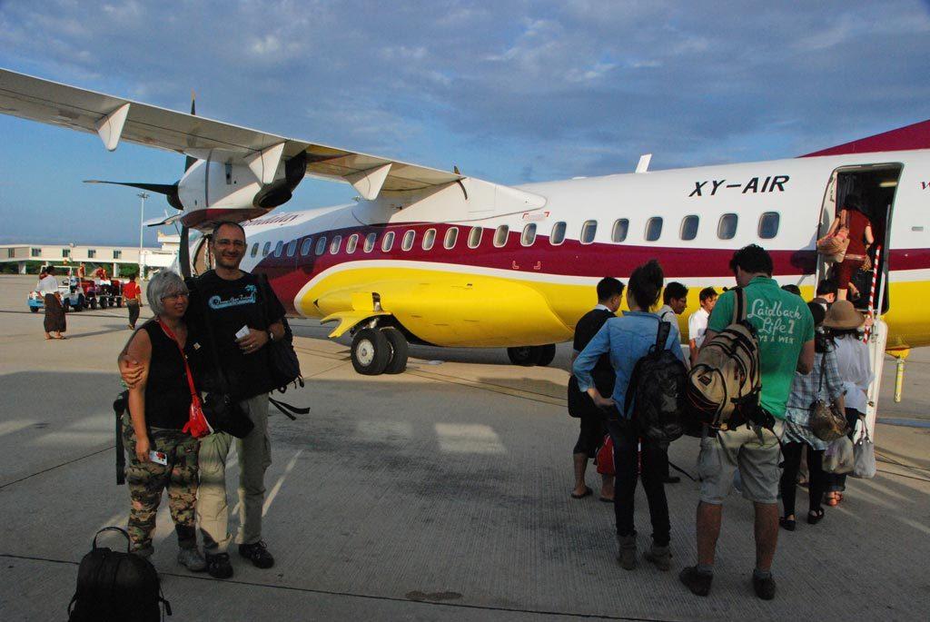 Volo Heho-Yangon