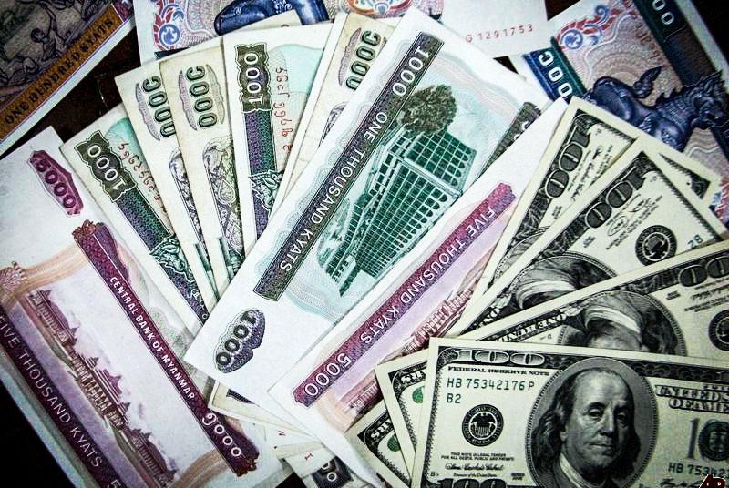 dollari a yangon