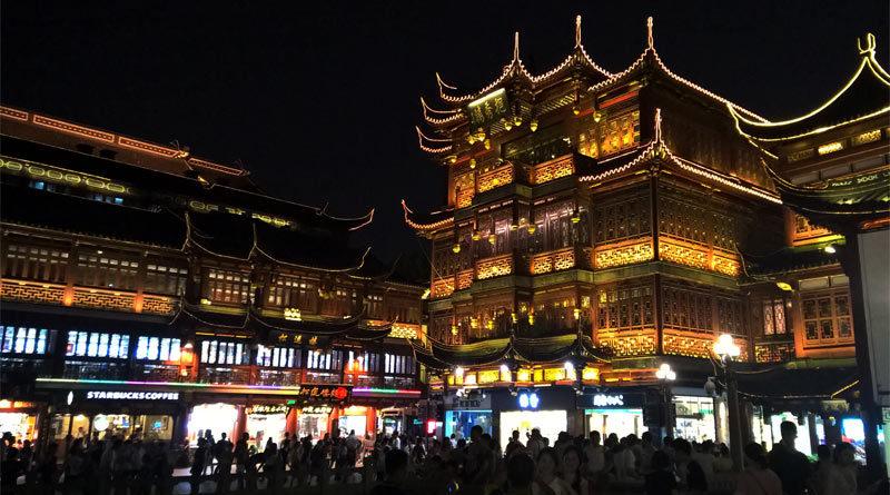 Nanshi, il parco divertimenti per turisti di Shanghai