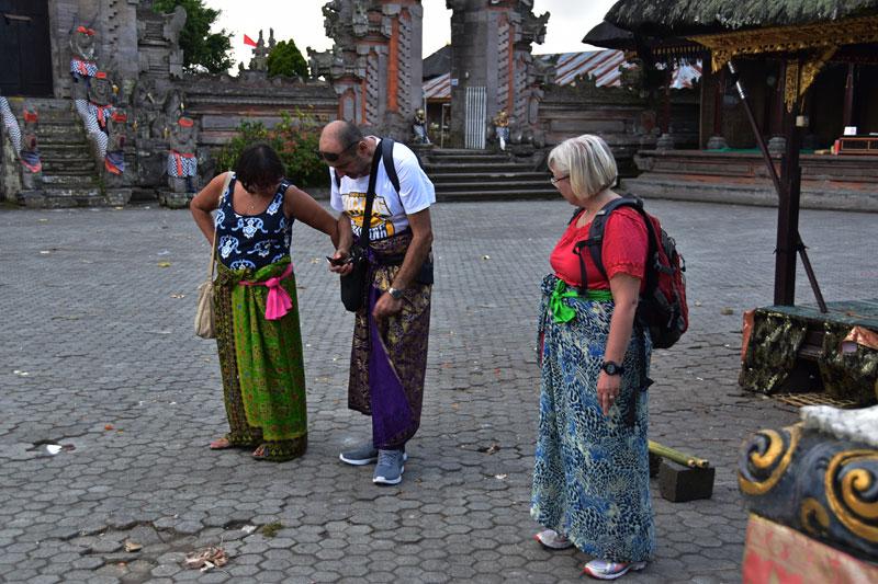 sarong indonesiano