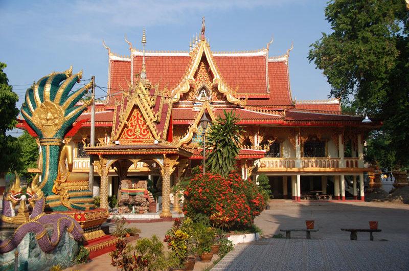 Monastero buddista a Vientiane