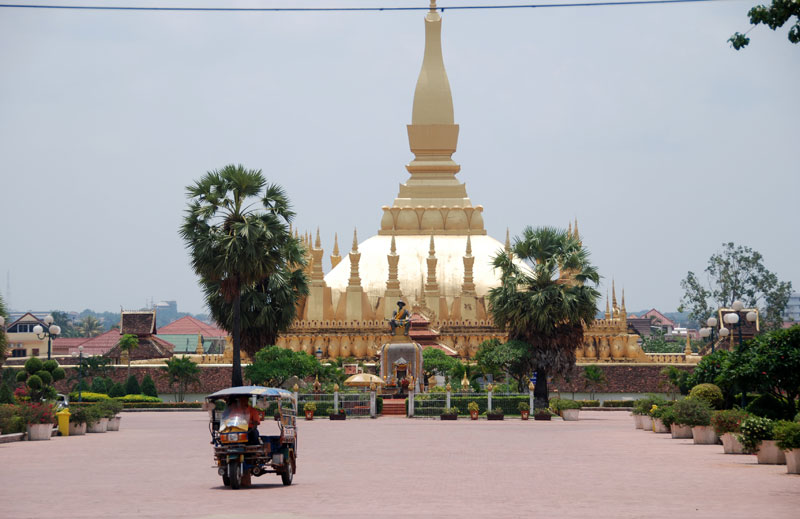 Il Pha That Luang, monumento nazionale
