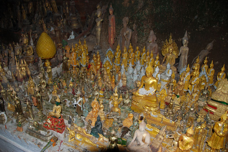 Le grotte sacre di Pak Ou