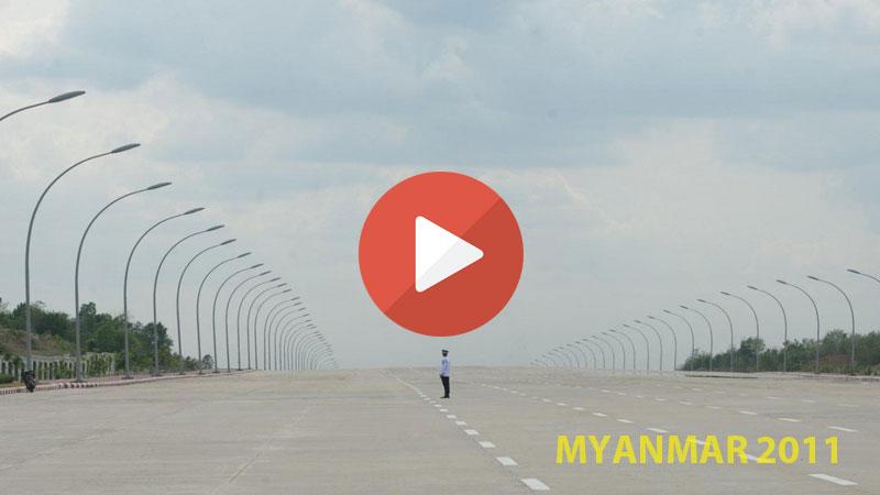 la nuova capitale del Myanmar