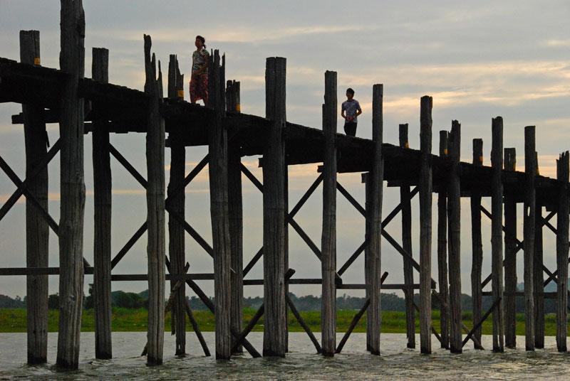 ponte di teak