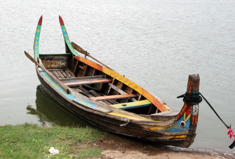 La caratteristica barca per turisti