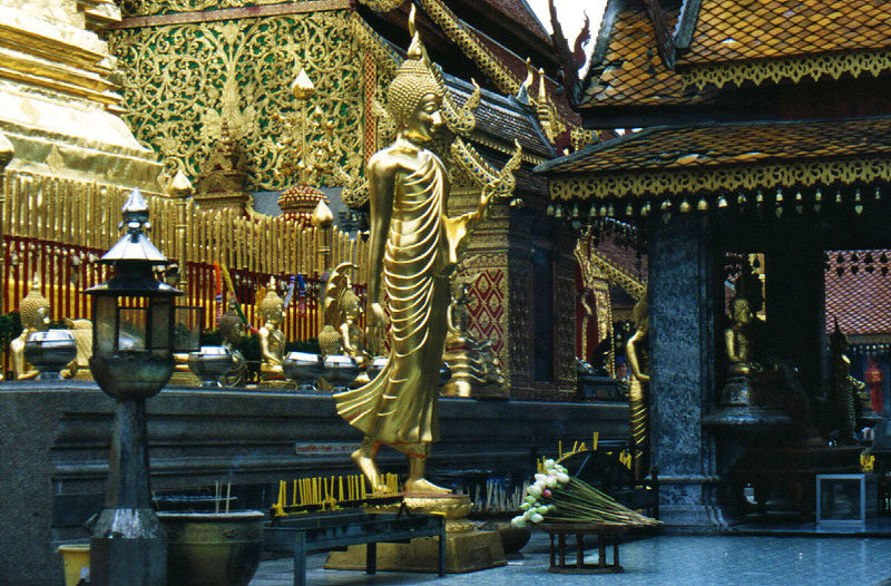Wat Phrathat Doi Suthep a Chiang Mai