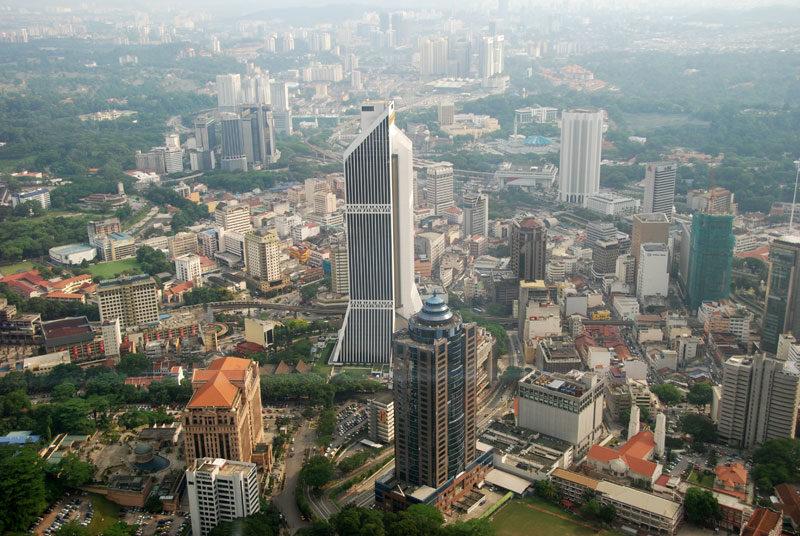 Panorama di Kuala Lumpur