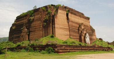 stupa di Mingun