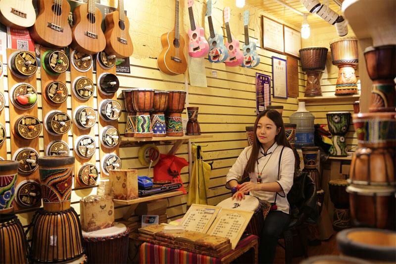 bongos a Lijiang