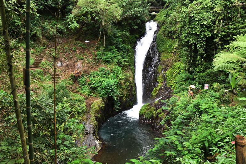 La cascata Gitgit