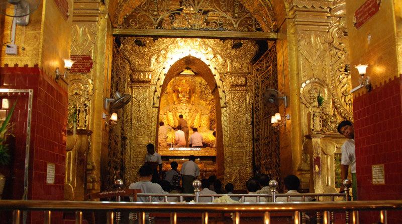 Budda ricoperto d'oro