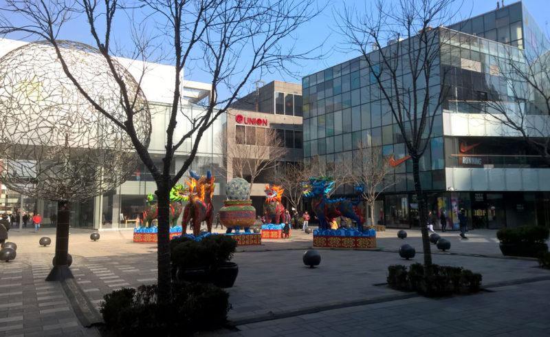 Sanlitun, quartiere moderno di Pechino