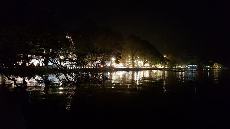 notte a Kandy