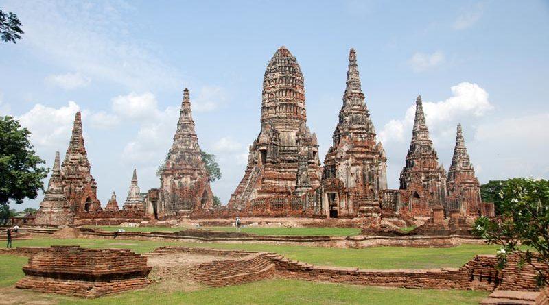 muoversi ad Ayutthaya