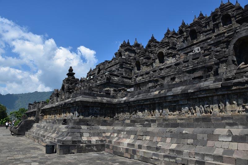 Il primo livello del tempio