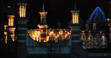moschea in stile indiano