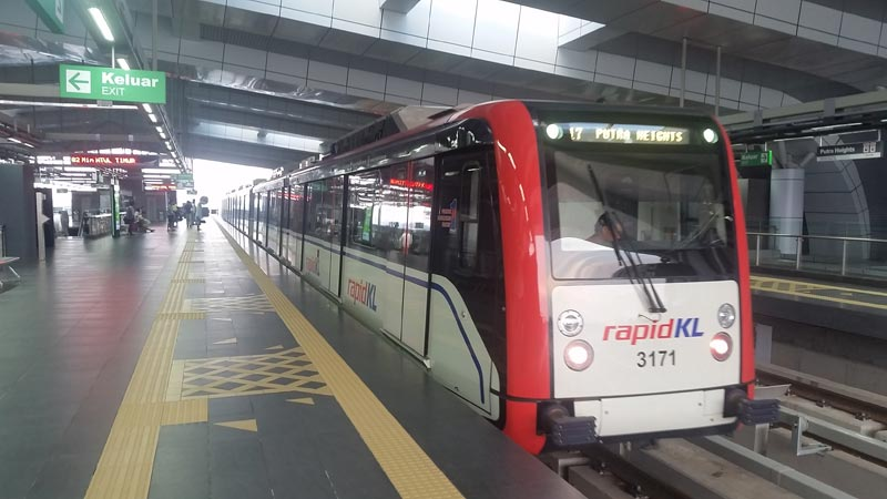 Muoversi a Kuala Lumpur