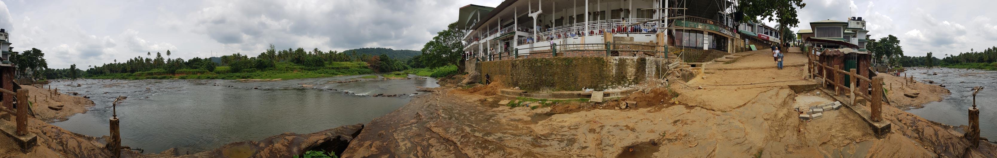Panorama di Pinnawela (senza elefanti)