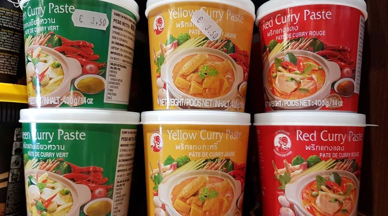 curry thailandese