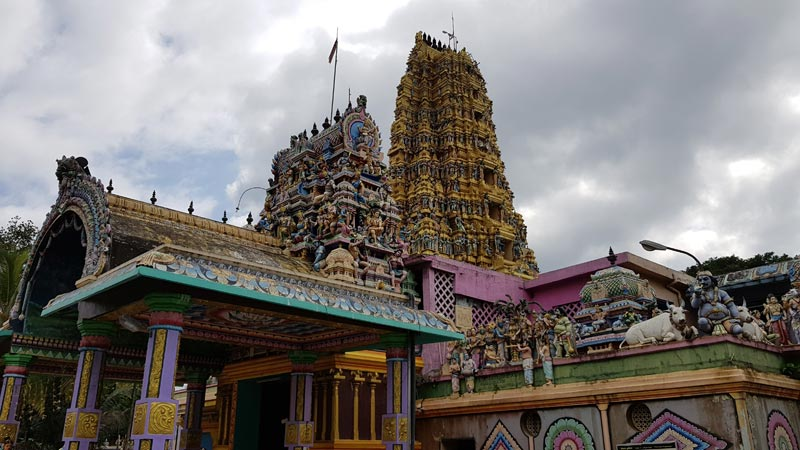 il tempio di Matale