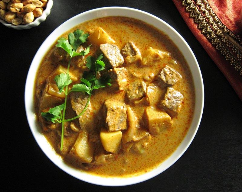 Curry giallo Massaman