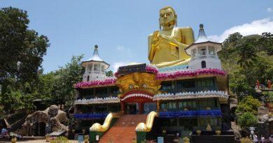 Buddha d'oro a Dambulla