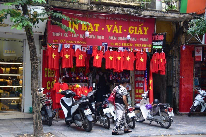"""Negozio """"nostalgico"""" di Hanoi"""