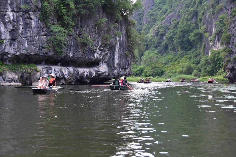 Escursione sul fiume a Ninh Binh