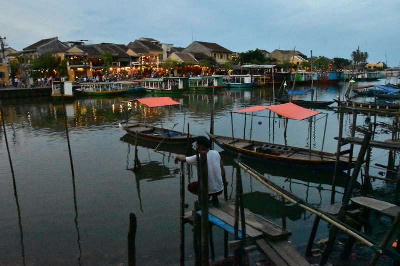 Hoi An all'imbrunire