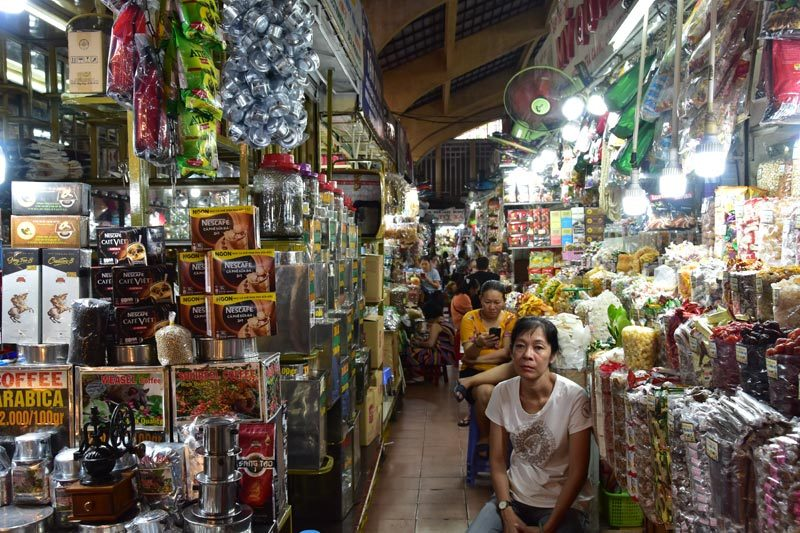 Ben Thanh Market, Saigon