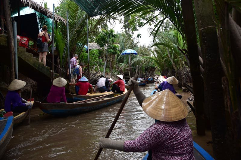 Canale interno del Mekong