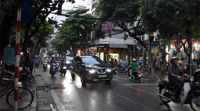 traffico ad Hanoi