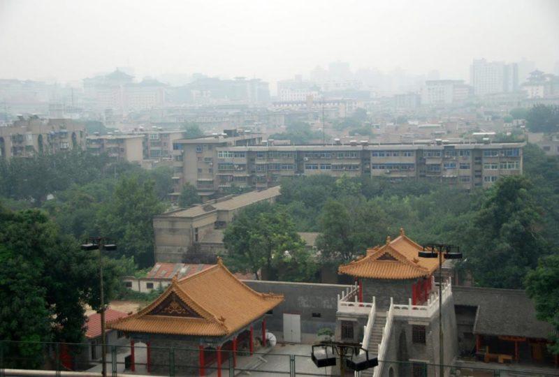 Panorama (terrificante) di Xian