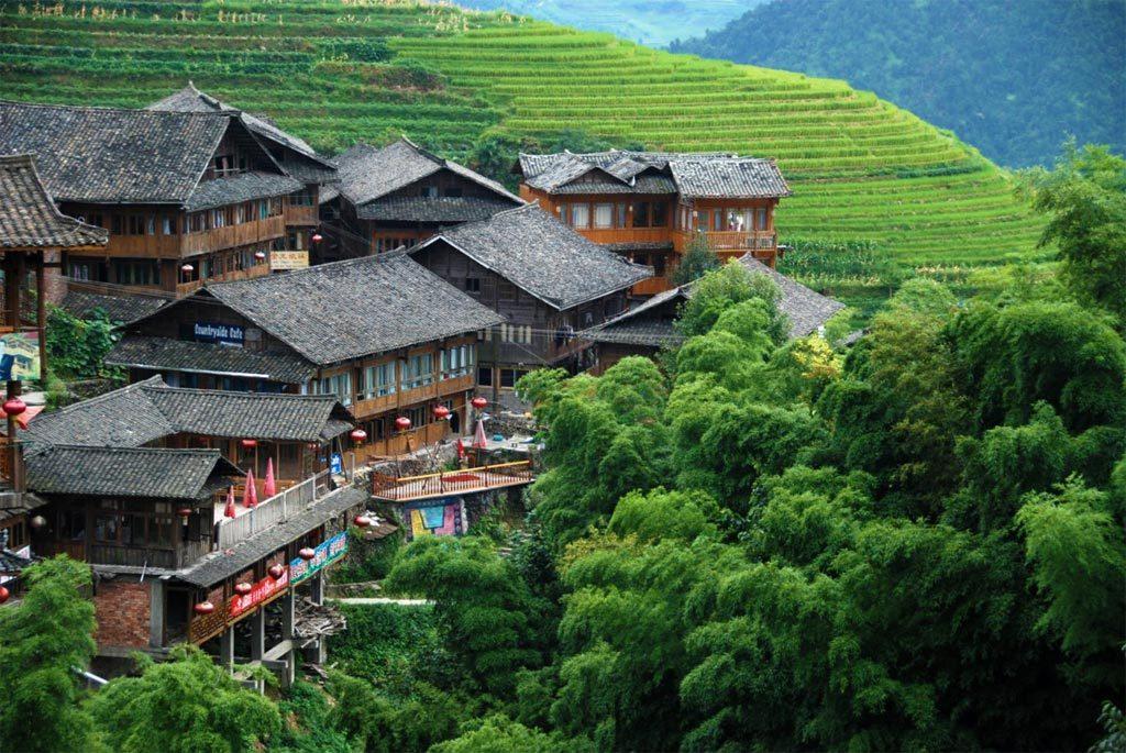 Le terrazze di riso a Longsheng