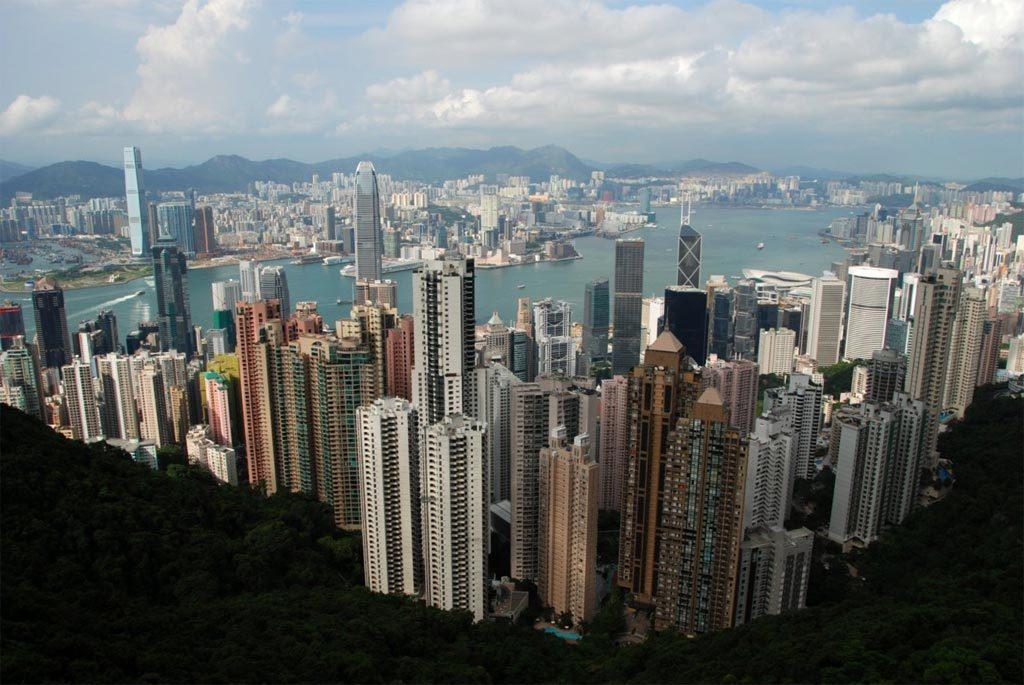 Panorama di Hong Kong