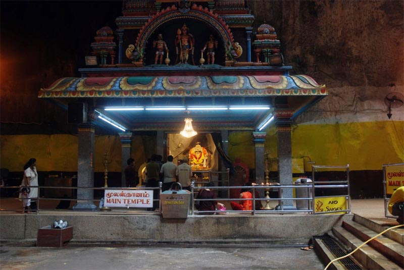 Il tempio principale delle Batu Caves