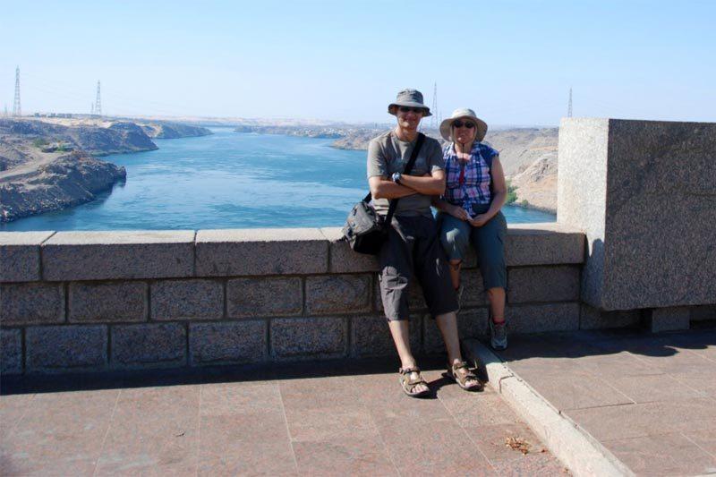 La diga di Assuan