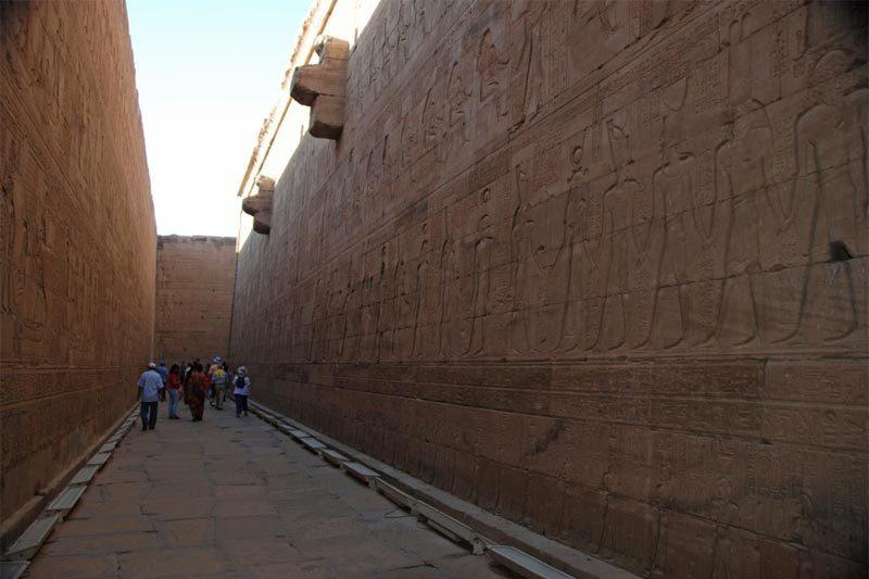 Il tempio di Edfu
